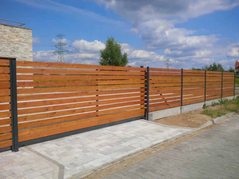 produkcja ogrodzenie drewniane od nowoczesne-ogrodzenie.pl